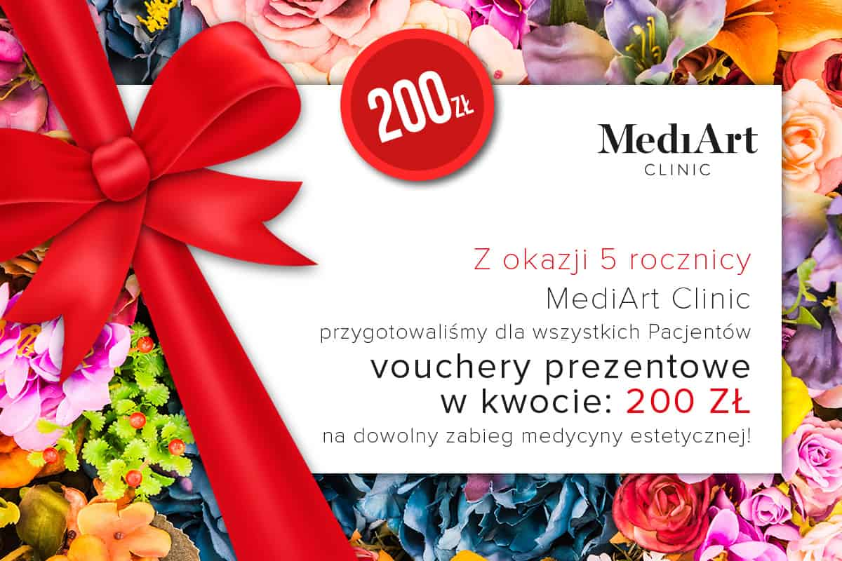 Voucher prezentowy Medi Art Clinic